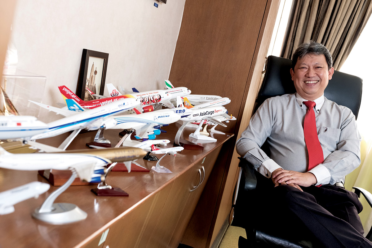 Woo Kam Weng CEO of Pos Aviation