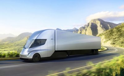 Tesla unveils new electric truck, Tesla Semi