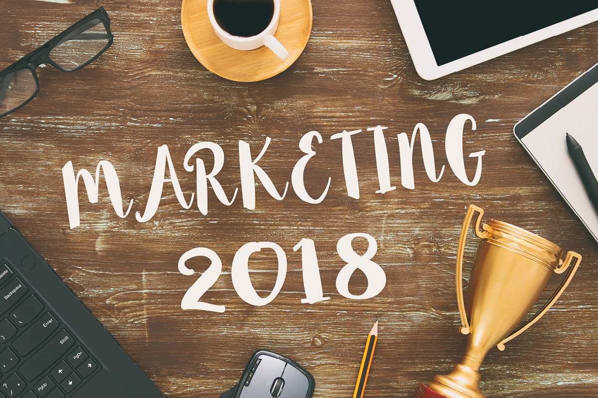 5 Key Digital Marketing Trends for 2018