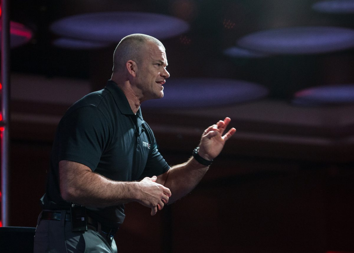 Jocko Willink, co-founder of leadership consulting firm Echelon Front.