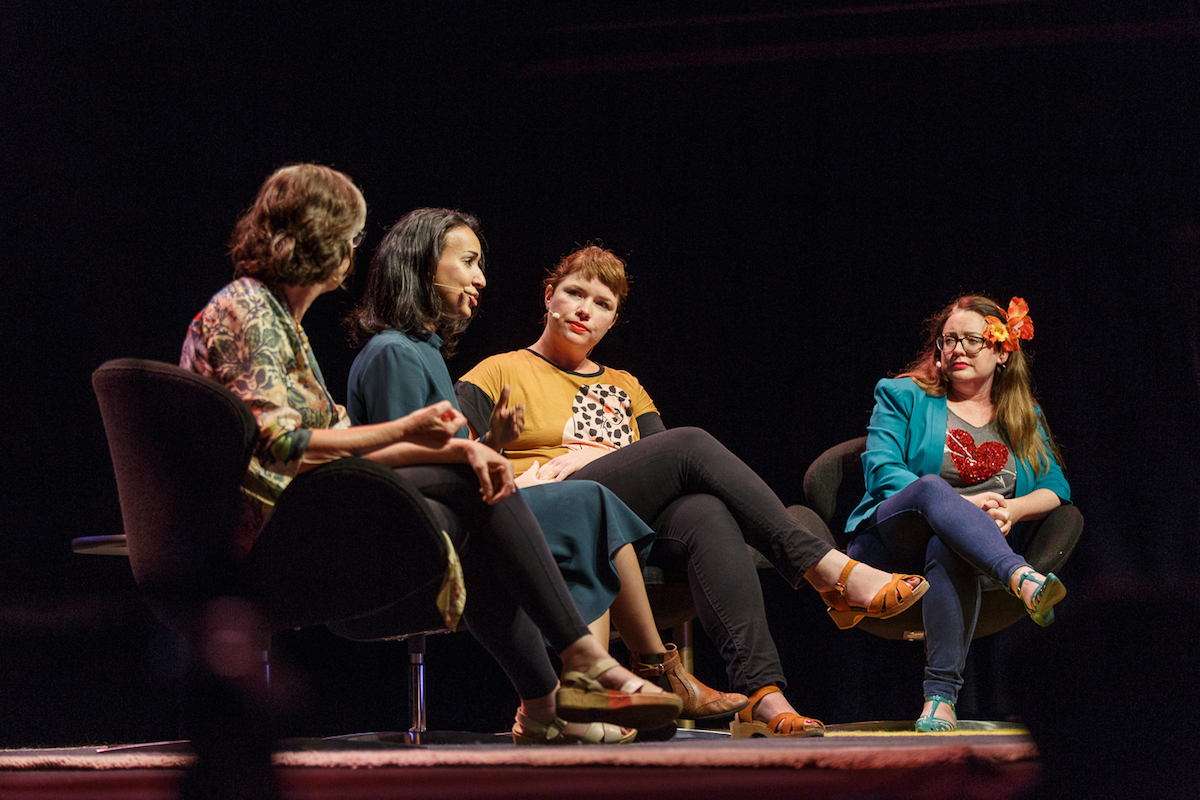 8 0 How to 'smash' the patriarchy: Clementine Ford, Manal al-Sharif and Barbara Kingsolver share their thoughts