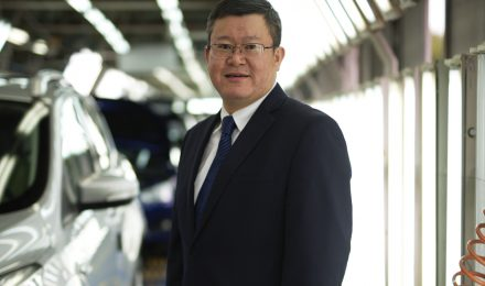 Tim Ju CEO of Ford Lio Ho