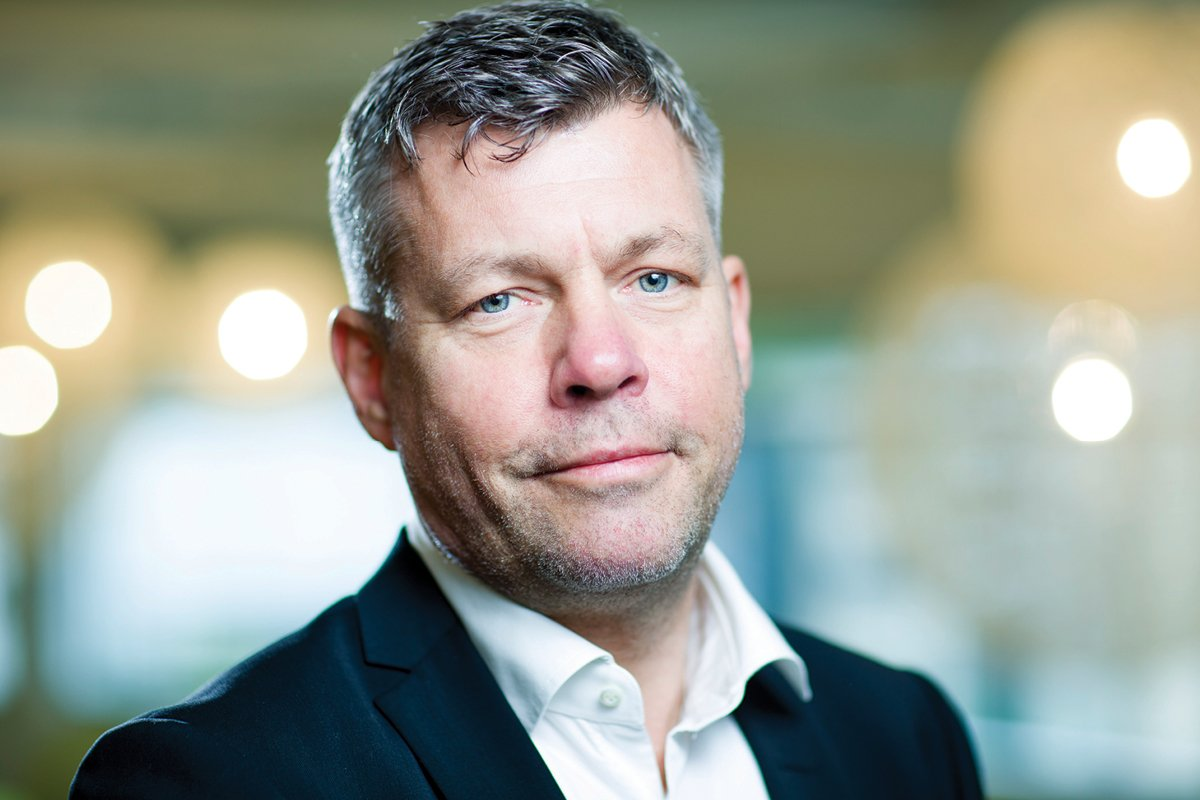 Sverre Helno, CEO of Umoe Restaurants