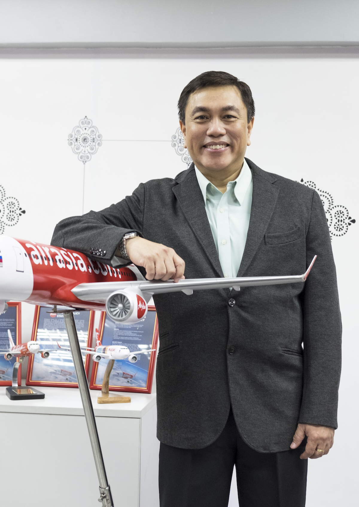 Dexter Comendador, President and CEO of Philippines AirAsia