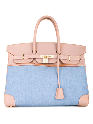 Hermès Vintage Birkin 35 Denim Bag