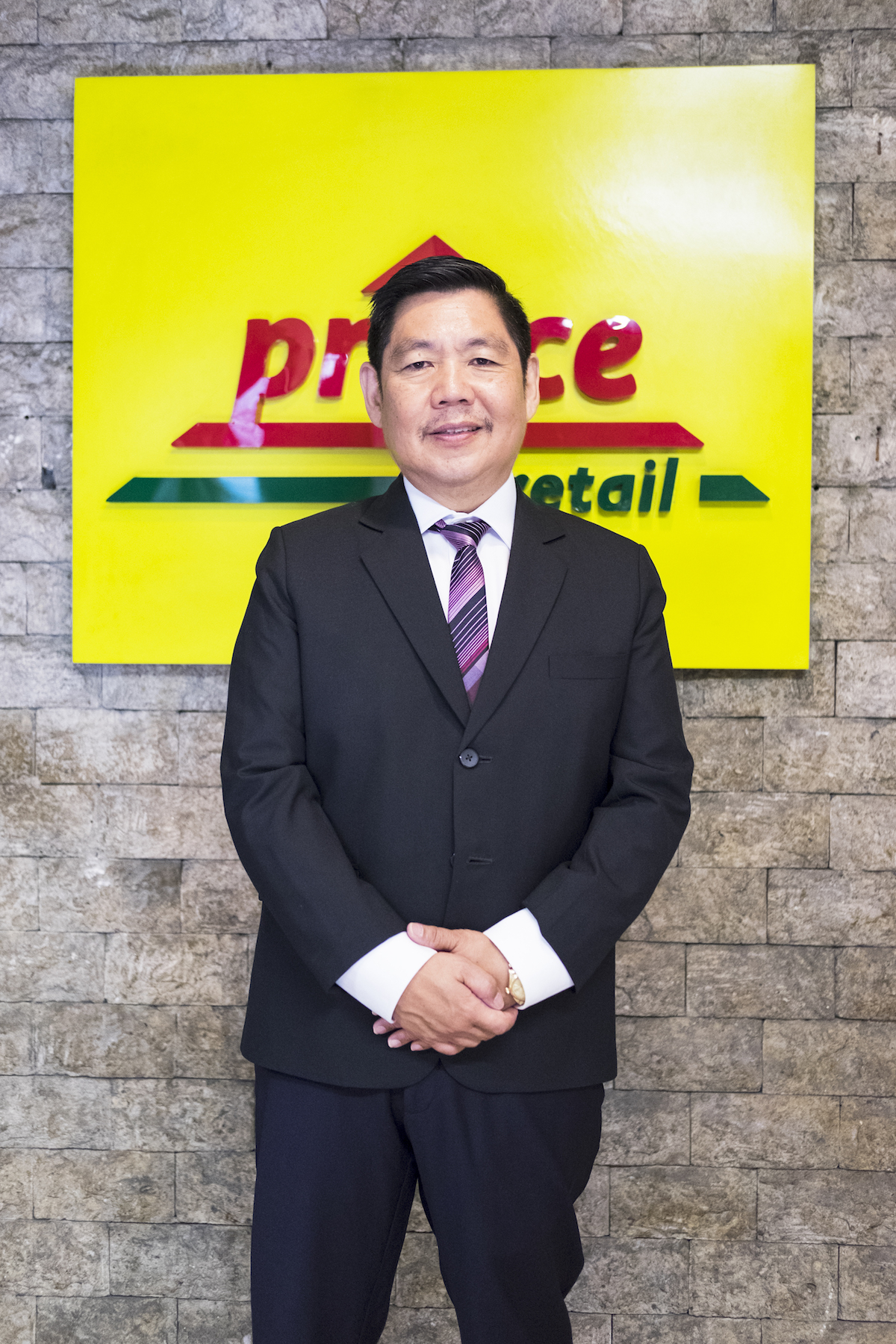 Robert Go, President and CEO of Prince Retail