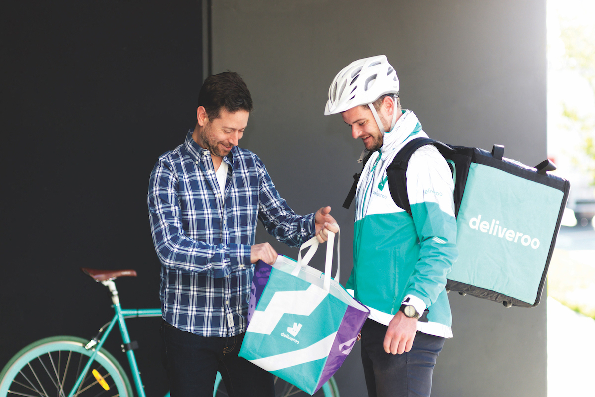 Levi Aron, Country Manager of Deliveroo Australia