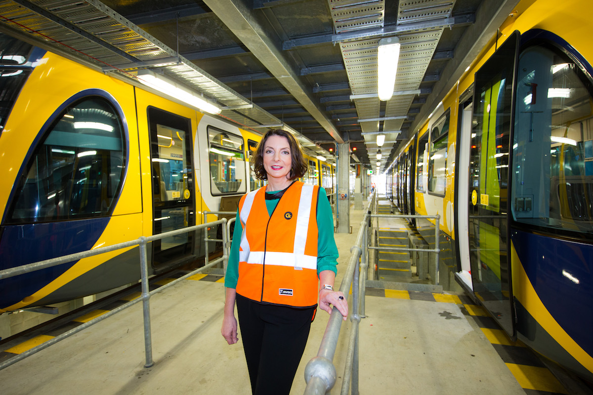 Loretta Lynch, Managing Director of Keolis Downer Gold Coast Light Rail