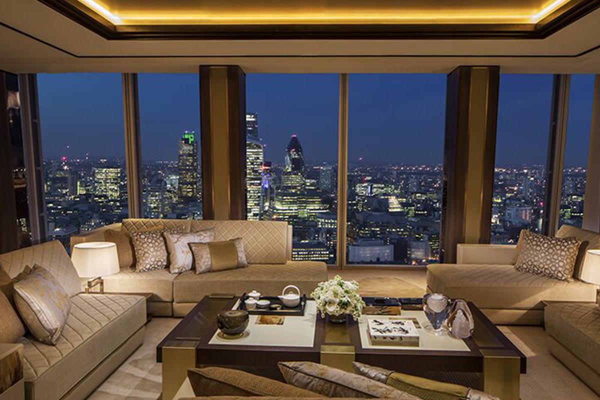 Shangri-La Suite, Shangri-La At The Shard, London