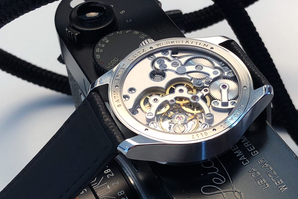 Leica moves into luxury watch world
