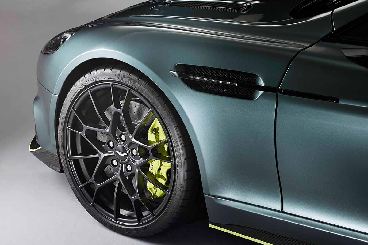 Aston Martin unveils its Rapide AMR