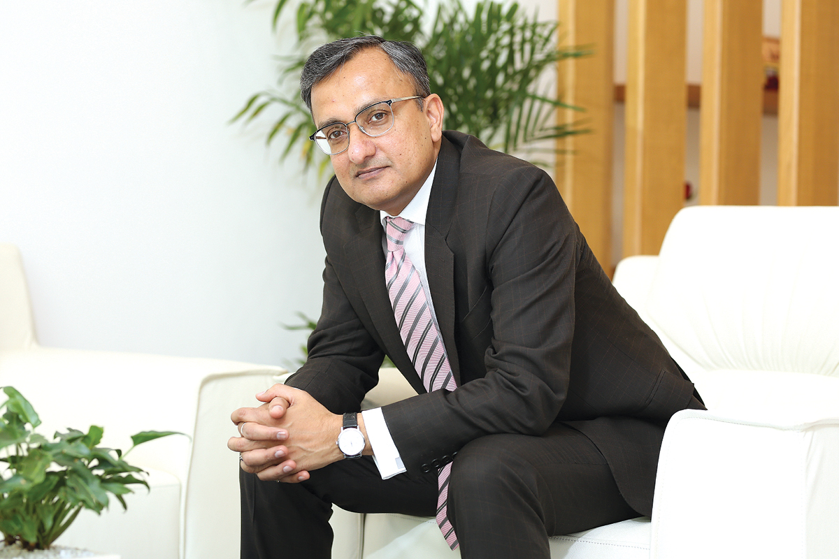 Rohit Saboo, CEO & President of National Engineering Industries