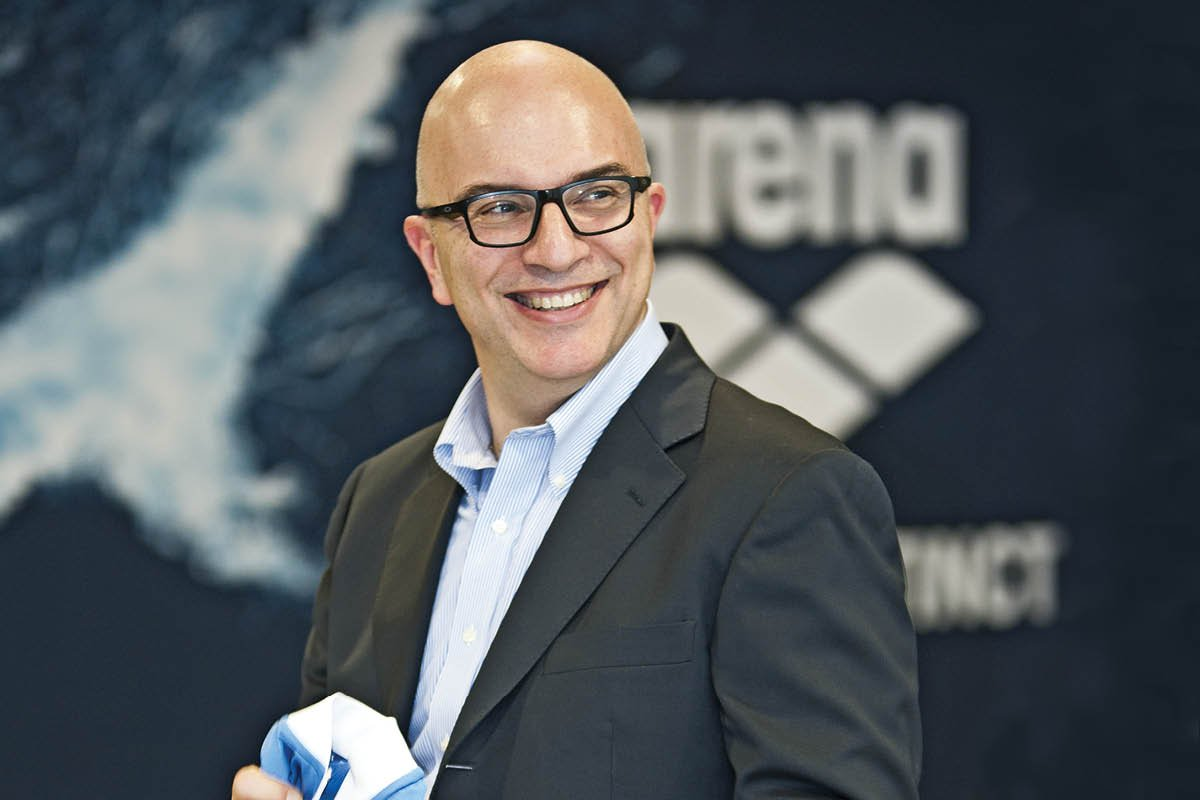 Luca Selvatici, Co-CEO of Arena Water Instinct