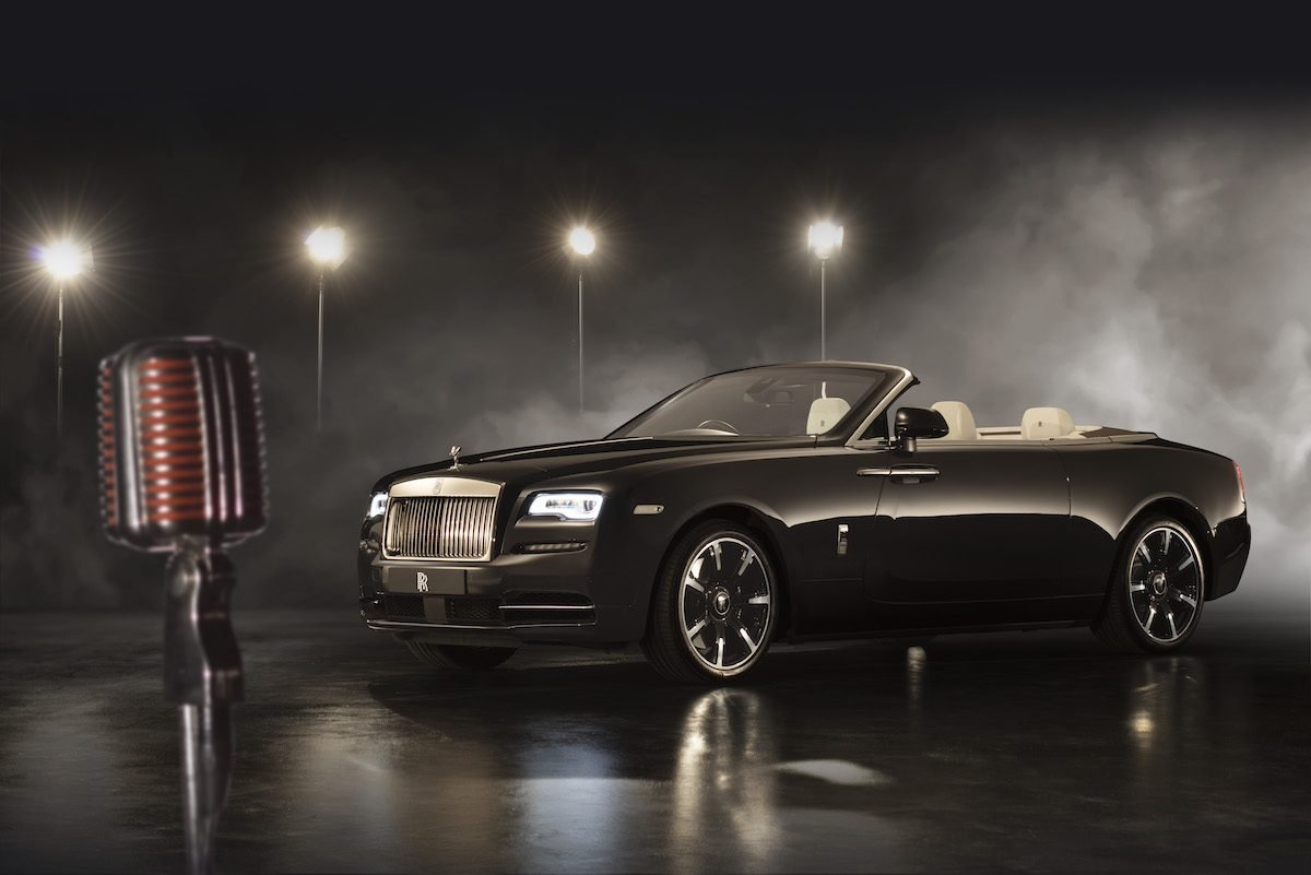 Rolls-Royce unveils Dawn 'Inspired by Music'