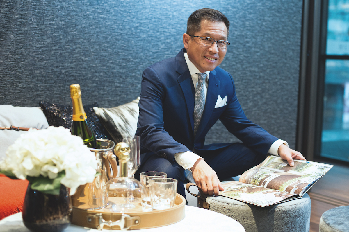 Patrick Kho, Group Managing Director of Lian Huat Group
