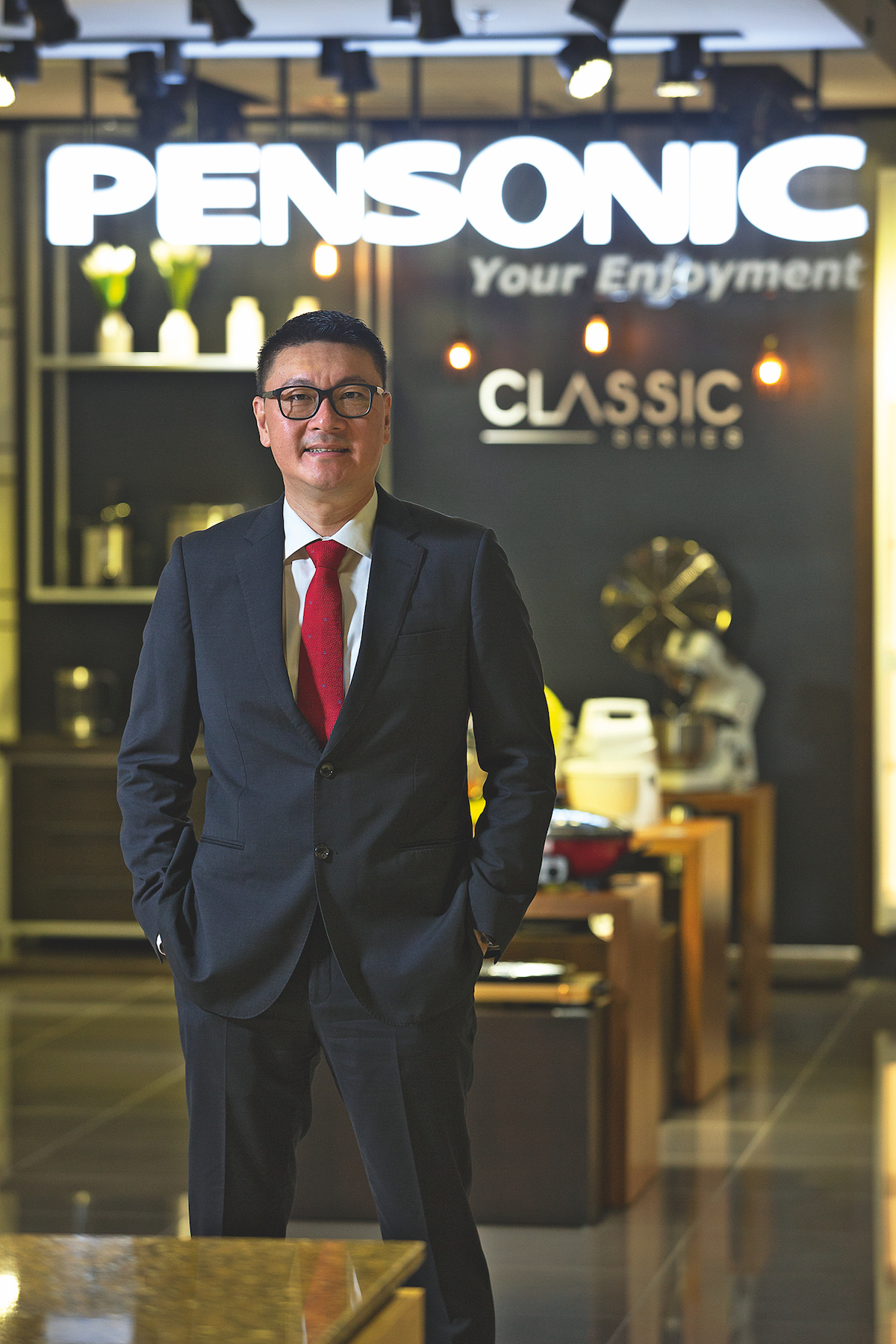 Vincent Chew, Managing Director of Pensonic Holdings BHD
