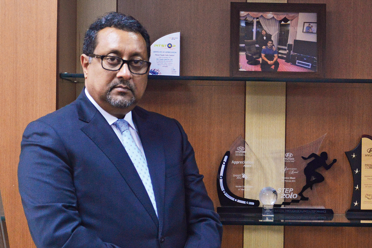 Joydeep Roy, President of Autoliv India Pvt Ltd