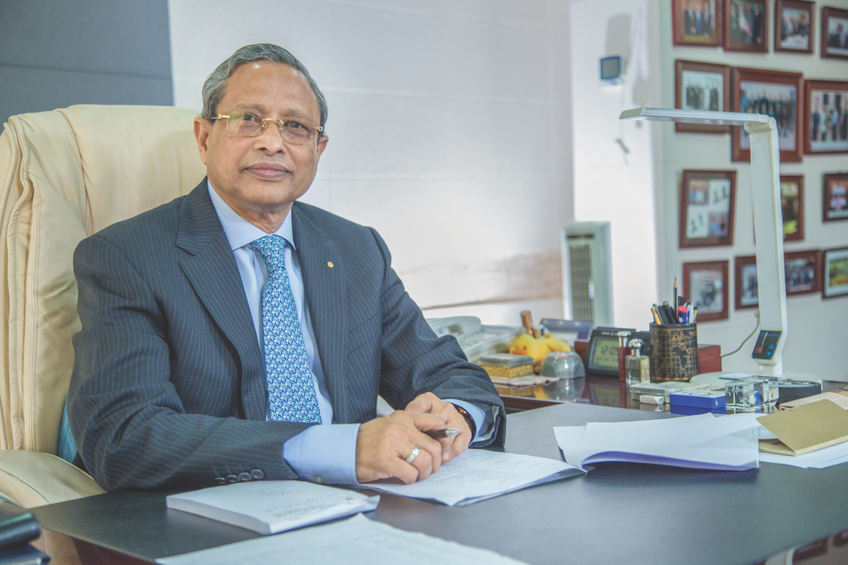 Matiur Rahman, Chairman & Managing Director of Uttara Motors