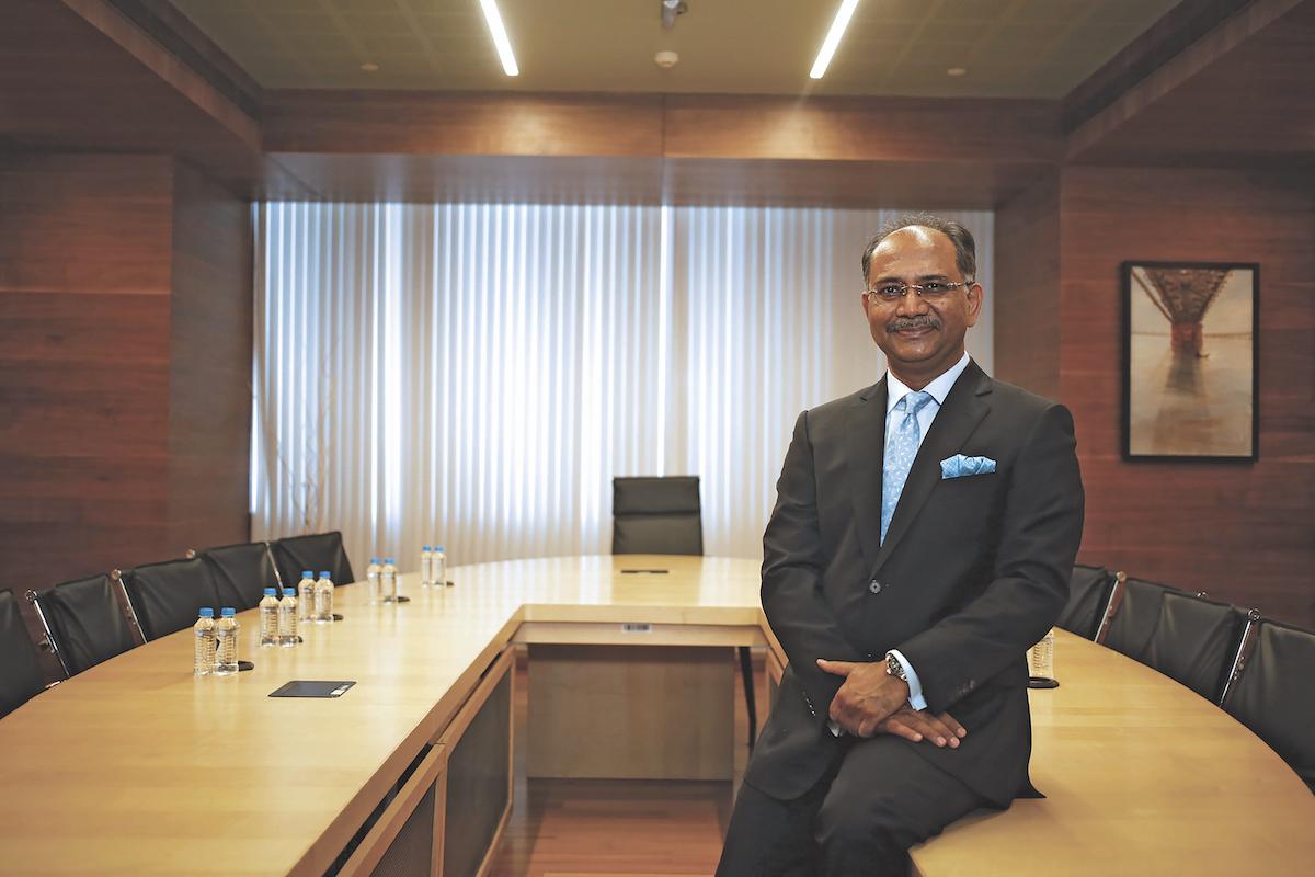 Dr Rajiv Kumar Gupta, Managing Director of Gujarat Narmada Valley Fertilizers & Chemicals Ltd