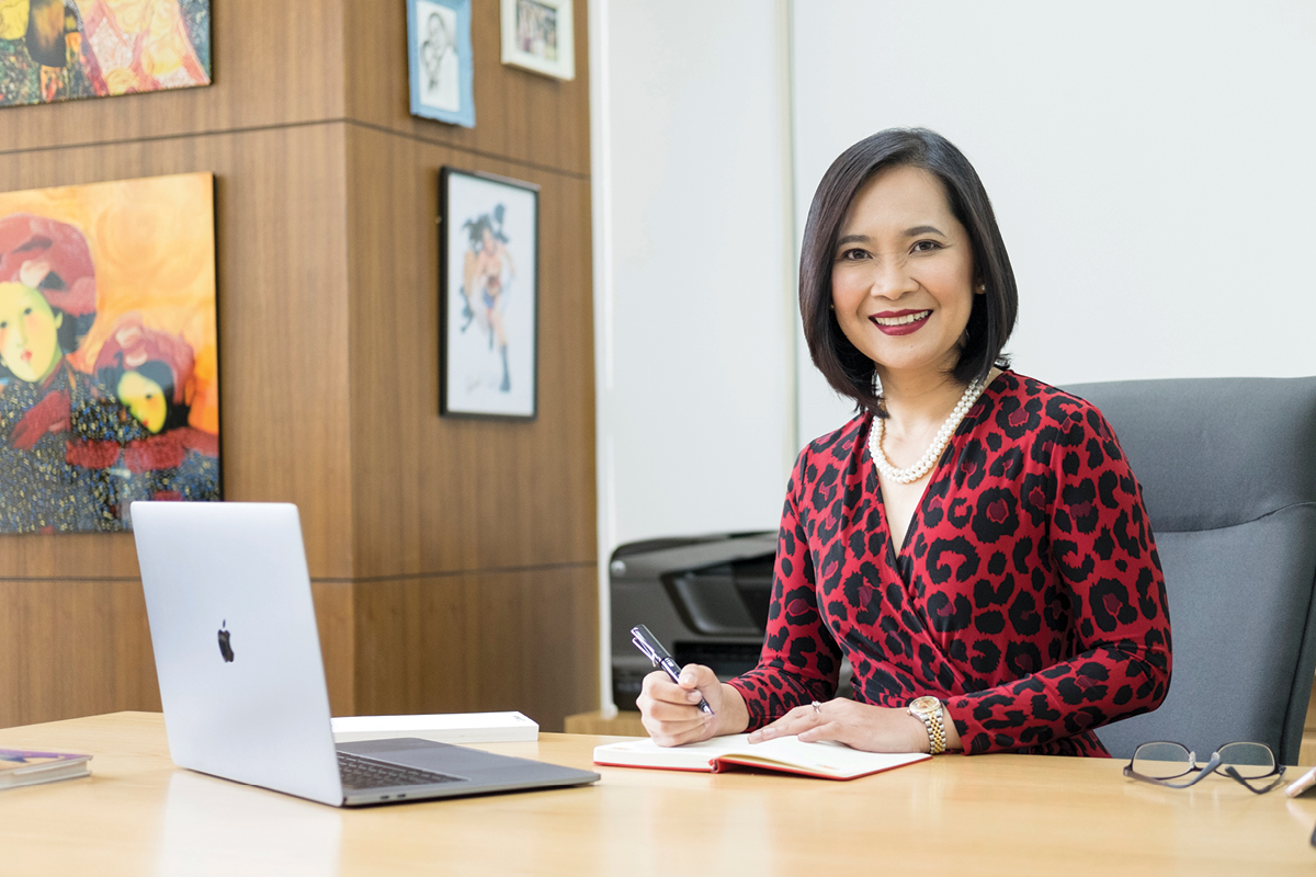 Jane Basas, President & CEO of Cignal TV