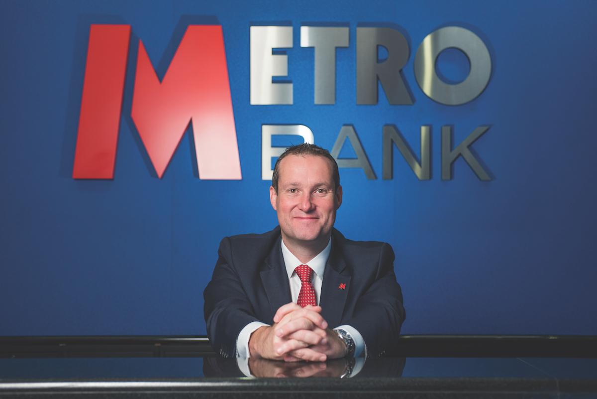 Craig Donaldson, CEO of Metro Bank
