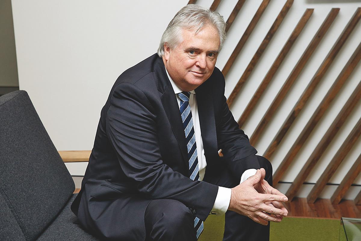 David Smith, CEO of Local Government Super