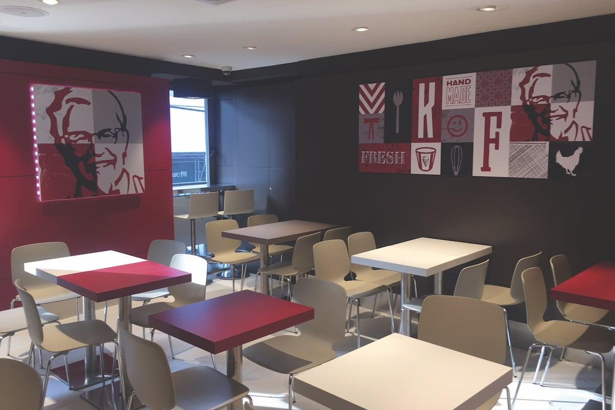 KFC Italy