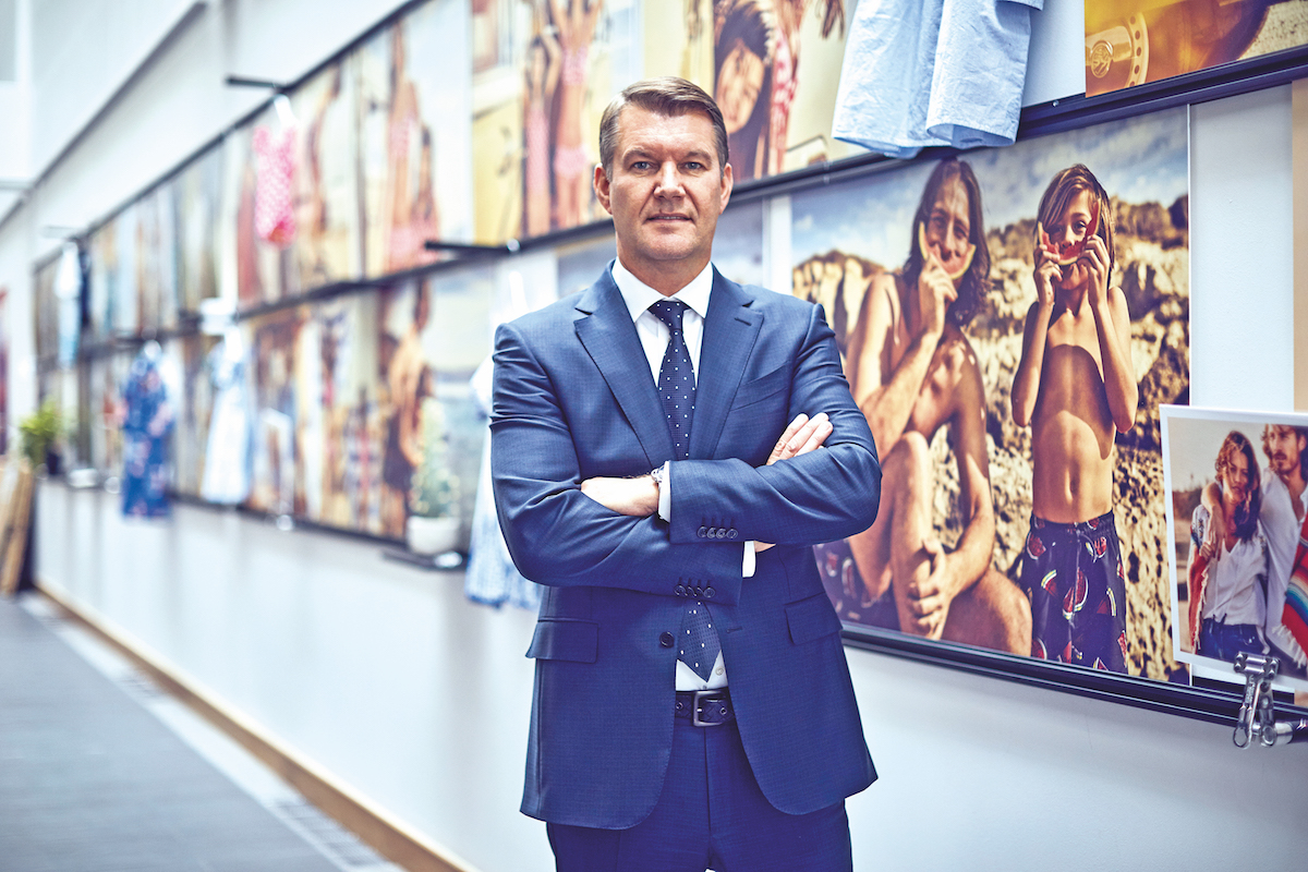 Jason Hargreaves, CEO of Matalan