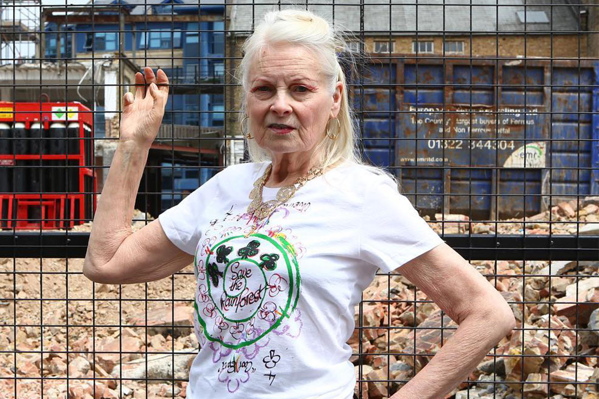 Burberry and Vivienne Westwood support the rainforest
