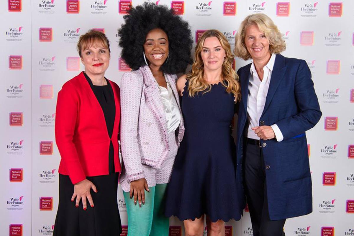 Lancôme and Kate Winslet launch literacy program