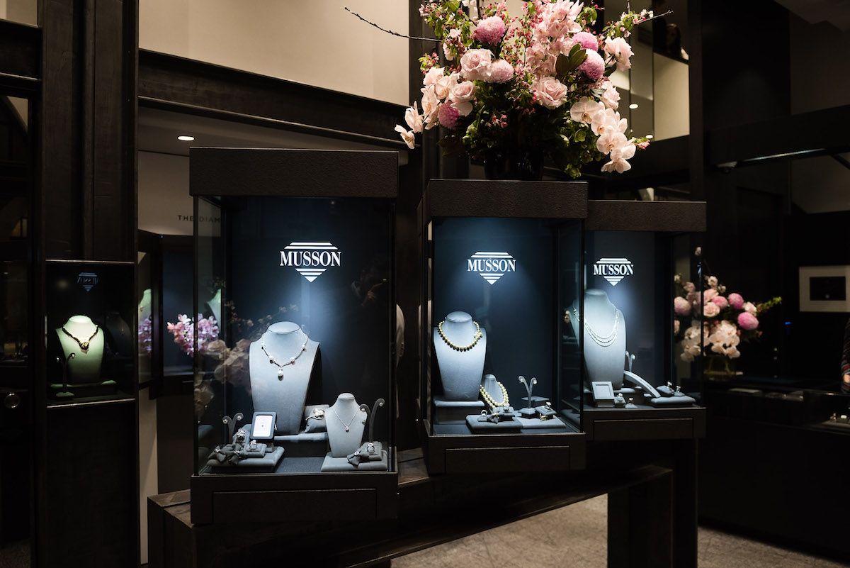 Musson Jewellers at Queen Victoria Building in Sydney
