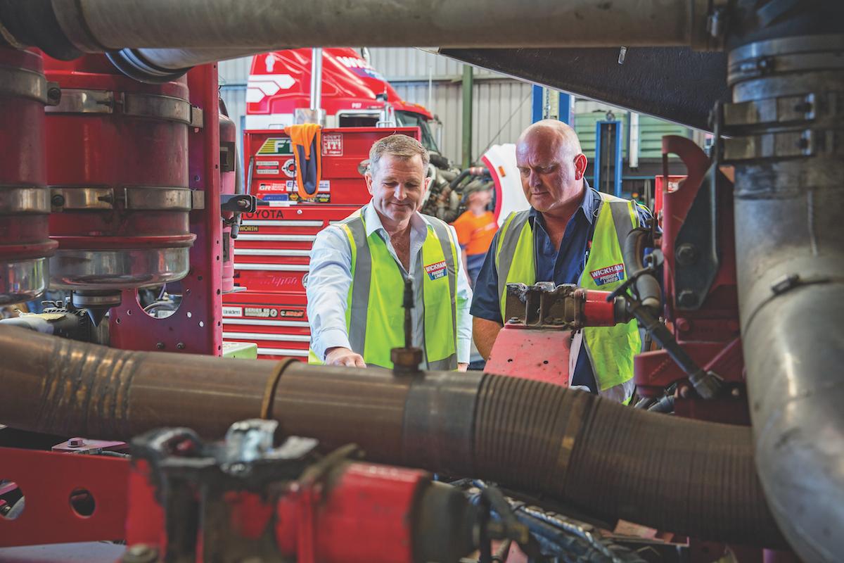 Darren Eather Director of Wickham Freight Lines