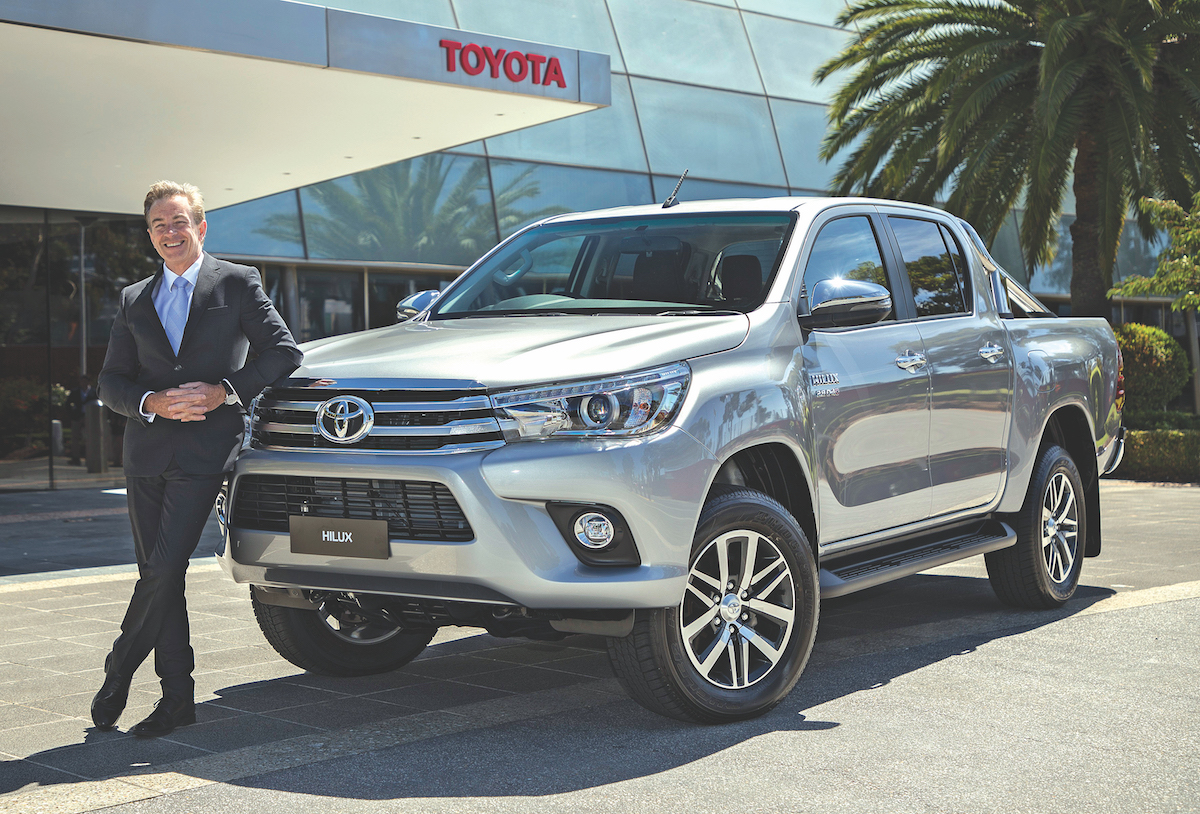 Matthew Callachor, President & CEO of Toyota Motor Corporation Australia