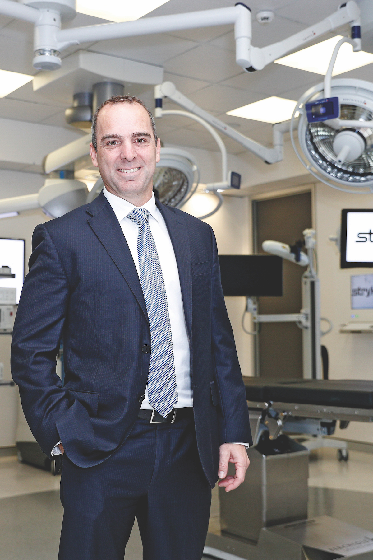 Maurice Ben-Mayor President of Stryker South Pacific