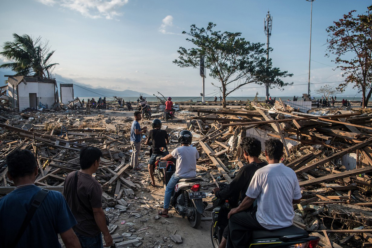 Indonesia is still recovering from a deadly earthquake and tsunami