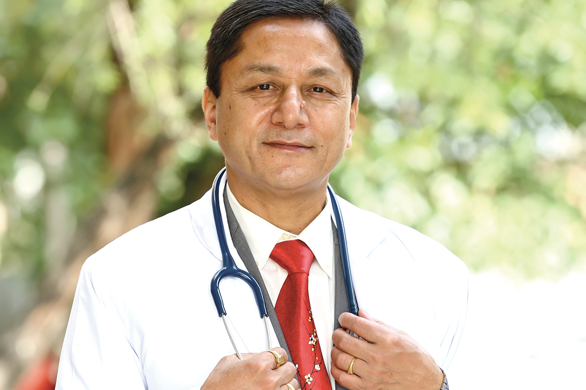Deepak Prakash Mahara, Executive Director (resigned July 2018) of Tribhuvan University Teaching Hospital