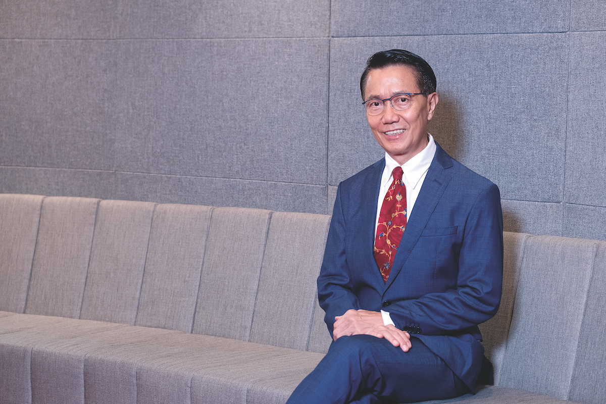 Charlie Kok, CEO of Schenker Singapore