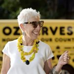 Ronni in front of OzHarvest truck