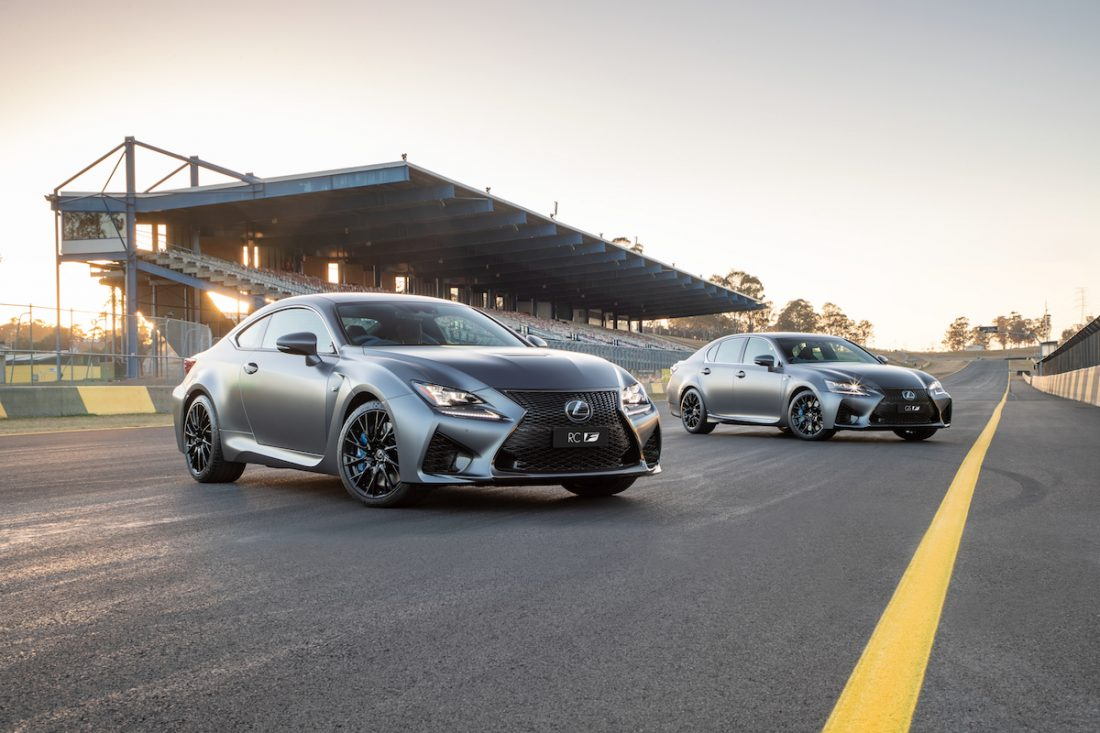 Lexus celebrates 10th anniversary with the GS F
