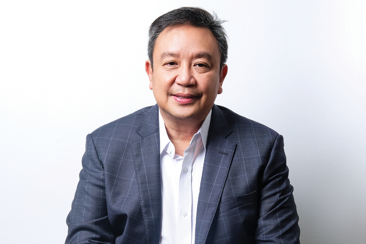 Vincent Pelagio Angala President and COO of Duty Free Philippines