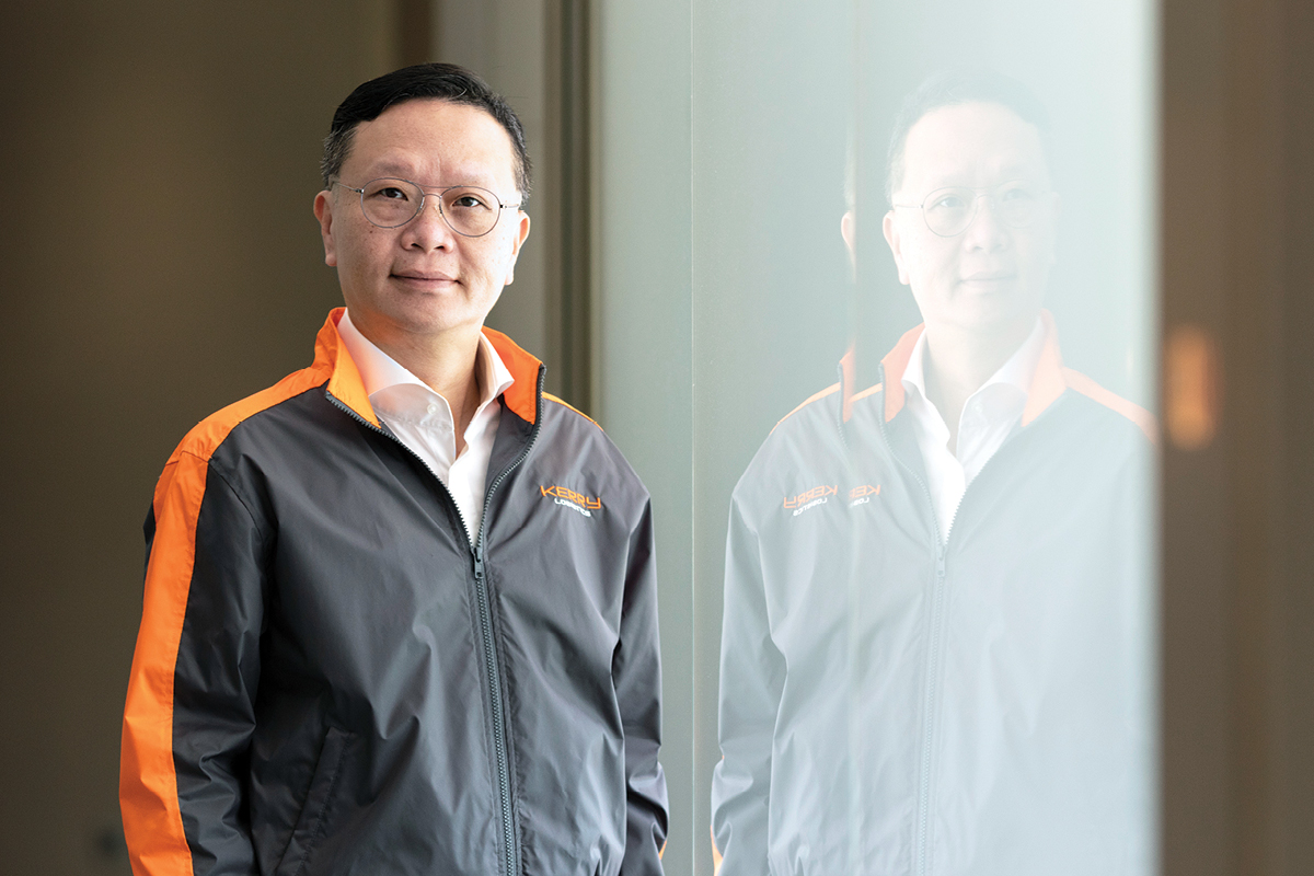 William Ma Group Managing Director of Kerry Logistics Network