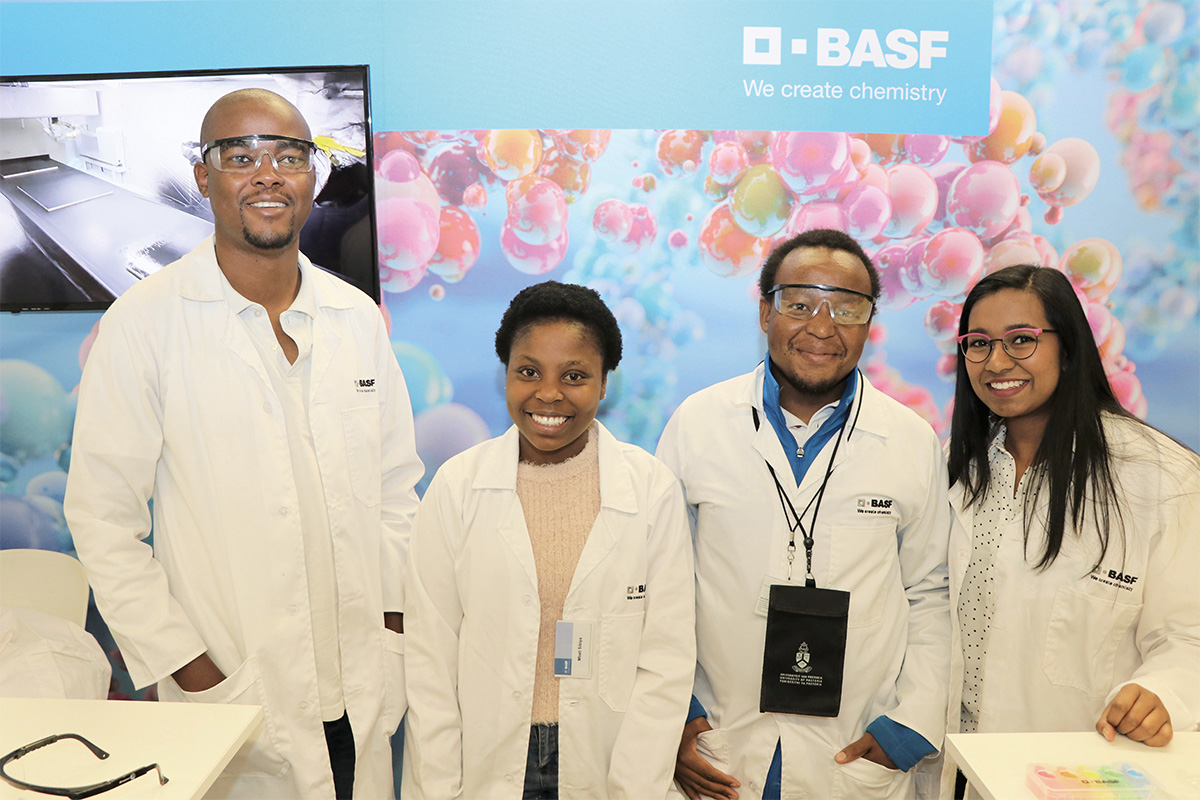 Benoit Fricard Managing Director and Vice President of BASF South Africa