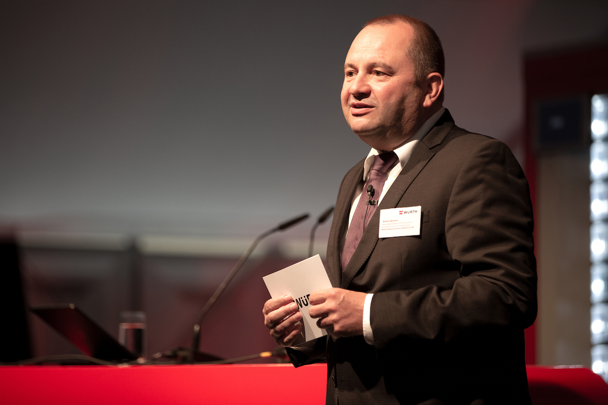 Rainer Bürkert, CEO of Würth Industry Service