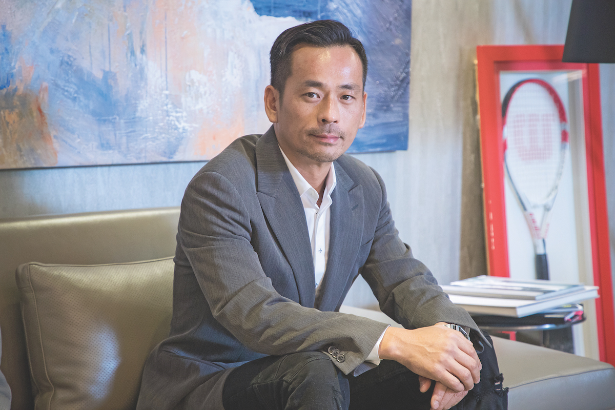 Alvin Chau Director and CEO of Suncity Group