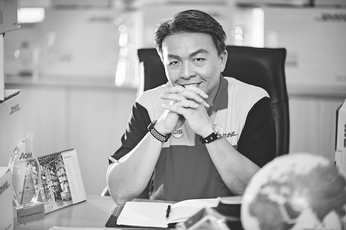 Christopher Ong Managing Director of DHL Express Malaysia and Brunei
