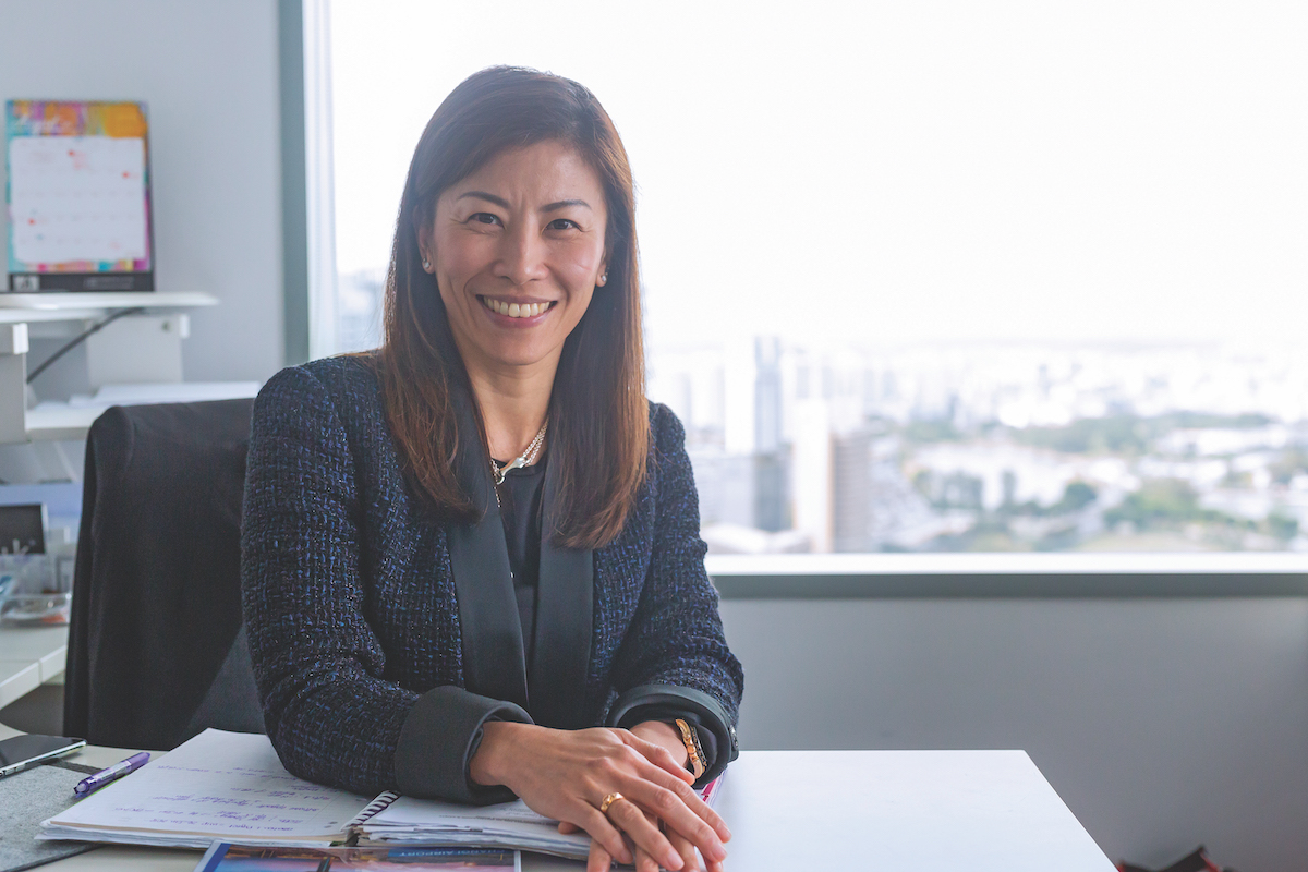 Evlyn Yang Managing Director of JCDecaux Singapore