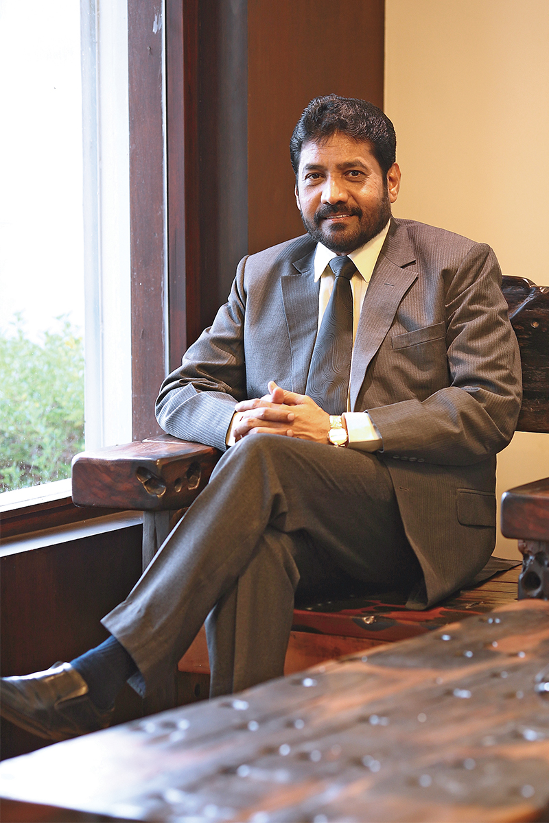 Padmasingh Isaac, Founder, Chairman and Managing Director of Aachi