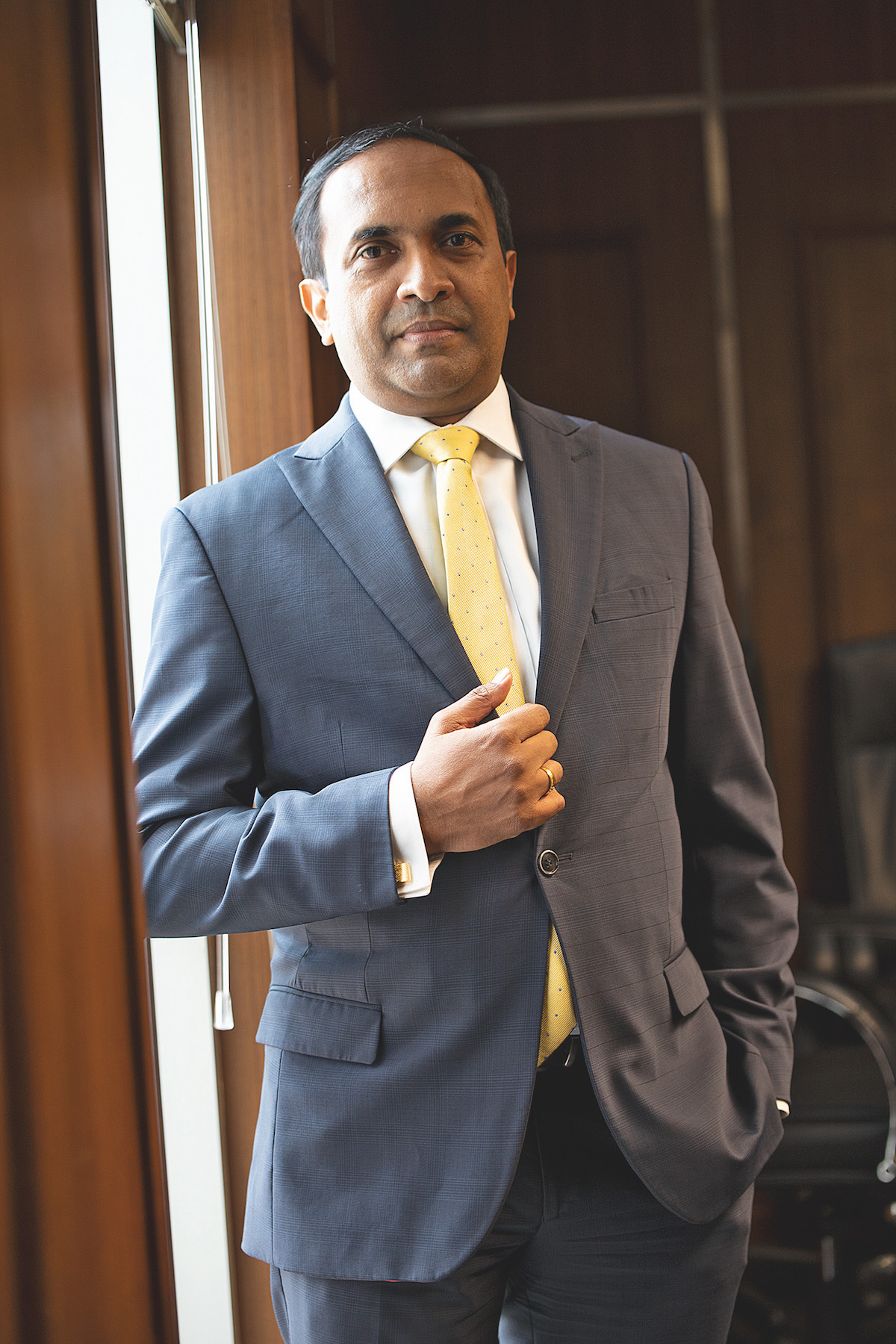 Rajeeva Bandaranaike, CEO of Colombo Stock Exchange