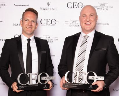 James Thornton and Sean Hunt take home joint Hospitality Executive of the Year award
