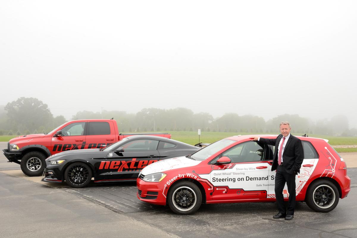 Mike Richardson President Nexteer Automotive